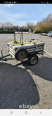 Car Trailer camping trailer tipping trailer bike cycle carrier