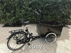 Cargo Bike 3 Wheel Child Carrier Market Stall Butcher Bike