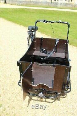 Cargo Bike 4 seats, Pet Carrier or cargo load 100kg