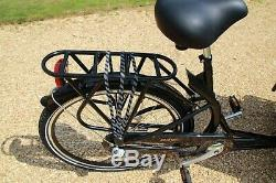 Cargo Bike/Bakfiets New 4 seats, Family, Pet Carrier, load 100kg can deliver-messag