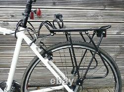 Claud Butler Explorer 400 Hybrid Bike With Panniers & Carrier Rack 20 Frame