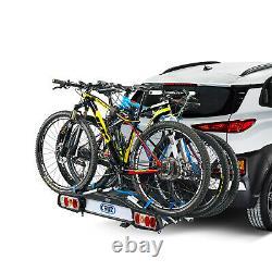 Cruz Bike Rack Towbar with Lighting Pivot 3 Cycle Rear Rack Carrier