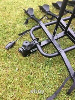 Cycle carrier 4 bike tow bar mounted