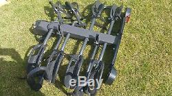Cycle carrier, up to 4 bikes excellent condition