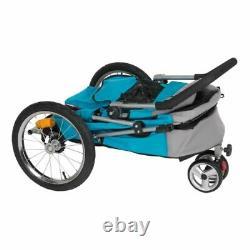 DOG CAT BIKE TRAILER Pushchair Carrier Stroller Jogging Kit Pet Bicycle Ride UK