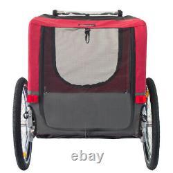 Doggyhut Large Pet Trailer Folding Bike Dog trailer carrier