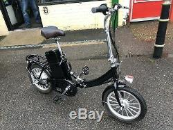 ELECTRIC BIKE FOLDING & CARRIER THROTTLE SUSPENSION BUDGET MODEL EBIKE NEW Gb230