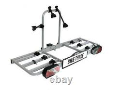 EUFAB Bike Three Carrier For 3 Cycle Rack Rear Towbar Tow BAR