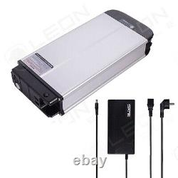 E-Bike rear carrier replacement battery + Charger 36V 18Ah 648Wh, Silver