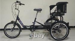 Electric Trekidoo/ Trikidoo Adult Trike - Kids Carrier