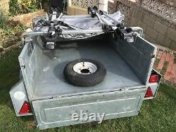 Erde 122 Trailer Mont Blanc Cycle Carriers New Cover & Wheels Camping (NOT BIKE)