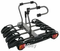 Exodus 4-Bike Platform Bicycle Carrier Bike Stable Holder Stand Easy Mount