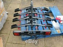 Exodus 4 bike towbar cycle carrier Halford bike rack