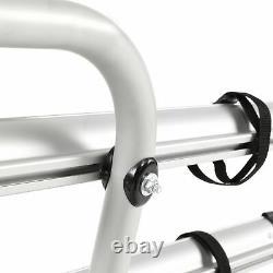 Fabbri BICI OK 2 Bike Silver Aluminium Van Rear Mount Cycle Carrier Rack