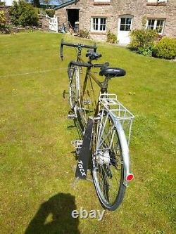 Fabulous Vintage Bob Jackson Reynolds 531 Tandem With Free Roof Carrier Monmouth