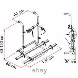 Fiamma Carry-Bike Pro Motorhome Bike Carrier 2 Bikes 02094-09A
