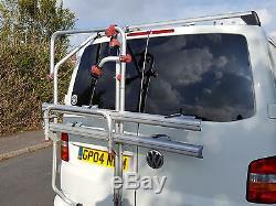 Fiamma VW T5 D Carry Bike Rack 2 Bikes Double Twin Door Cycle Carrier 02093-79
