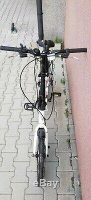 Folding Bike Bicycle Disk 6 Gear Carrier 20 Alloy Unisex UK RRP£399 White ukG1