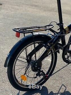 Folding Bike Bicycle Disk 6 Gear Carrier 20 Wheel Unisex UK RRP £399 UK STOCK