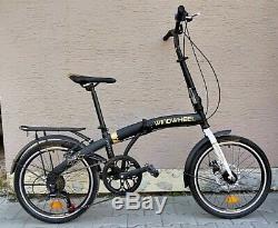 Folding Bike Bicycle Disk 6 Gear Carrier 20 Wheel Unisex UK RRP £399 UK STOCK 1