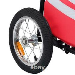 Folding Cargo Bike Trailer Extra Bicycle Storage Carrier Handy Cart Carrier