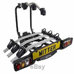 GENUINE WITTER Towbar Mounted 3 Three Bike Cycle Carrier ZX503