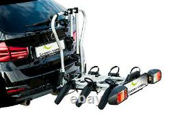 Green Valley Smart Rider 4 Bike Cycle Carrier Rack Tiltable Tow Bar Mounted