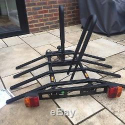 Halfords 4 Bike Platform Car Rear Tow Bar Mounted Rack Bicycle Cycle Carrier