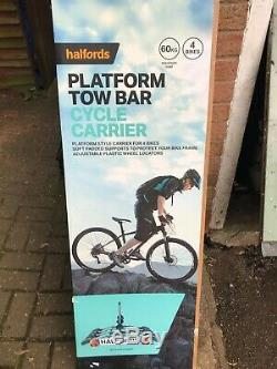 Halfords 4 Bike Tow Bar Cycle Carrier, Rack
