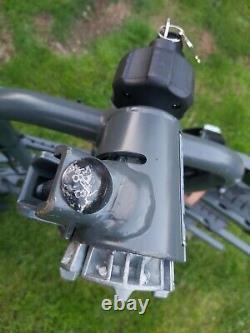 Halfords 4 Bike Towbar Mounted Bike Rack Cycle Carrier (thule exodus)