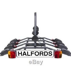 Halfords Tow Bar Cycle Carrier Bicycle Rack bike rack X4 cycle