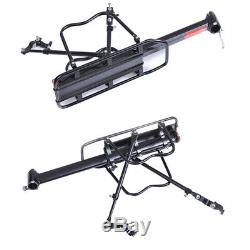 Heavy Duty Bike Bicycle Rear Rack Pannier Back Seat Luggage Support Carrier Kits