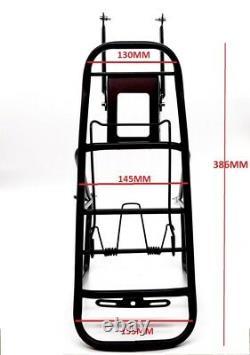 Heavy Duty MTB Bike Bicycle Cycle Pannier Rear Rack Carrier Bracket Luggage 30Kg