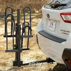 Hitch Mount Bike Rack Carrier Truck SUV Car Hitch Receiver Platform Tray Style