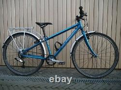 Islabikes Beinn 26 Teal Great Condition + Islabikes Carrier and Mudguards