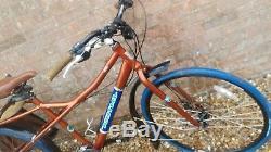 Kona Ute hybrid Cargo Utility Bike/ Family cargo Carrier Bike brown Large 20