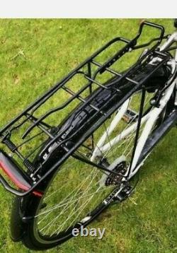 Ladies Hybrid bike+carrier+stand Comfort 700c (18 alloy Frame) 21 Speed