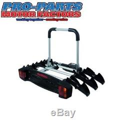 MONT BLANC Towvoyage Towball Mounted Cycle Carrier Holds 1-3 Bikes 205053