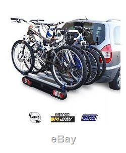M-way Foxhound 4 Bike Cycle Carrier Rack Bc3014