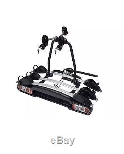 M-way Nighthawk 3 Bike Cycle Carrier Towball Mount Tiltable Fully Lockable