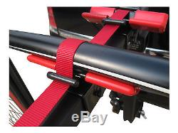 MaxxRaxx Discovery 4 Bike Cycle Carrier Rack Towbar Mounted fits 4x4 Spare wheel