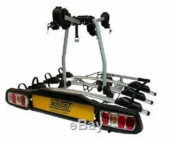 Maypole Towball Mounted 4 Bike Cycle Carrier