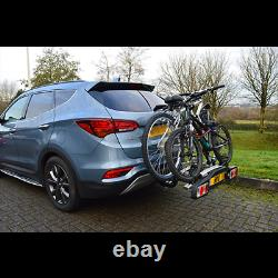 Maypole Towball Mounted Car Rear Tow Bar Cycle Holder 2 Bike Carriers -30kg Load