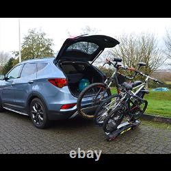 Maypole Towball Mounted Car Rear Tow Bar Cycle Holder 3 Bike Carriers
