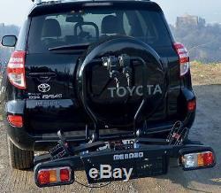Menabo Alphard 2 Bike / Cycle 50mm Towball / Towbar Carrier / Rack BC3042