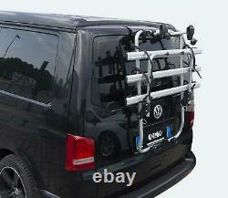 Menabo Bike Rack Cycle Carrier Tailgate Fits Vw T5 Transporter Campervan