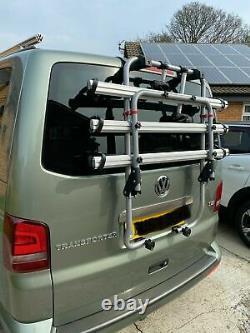 Menabo Bike Rack Cycle Carrier Tailgate Vw T6 Transporter Campervan