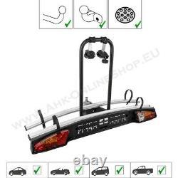 Menabo Merak Type S Towbar Mounted Bike Rack Cycle Carrier for 2 bikes 7/13 pin