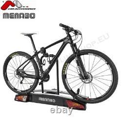 Menabo Merak Type S Towbar Mounted Bike Rack Cycle Carrier for 3 bikes 7/13 pin