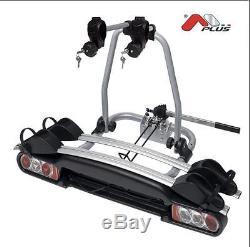Menabo Winny Towbar Mounted Steel Bike Car Cycle Carrier 2 Bicycles 000040600000